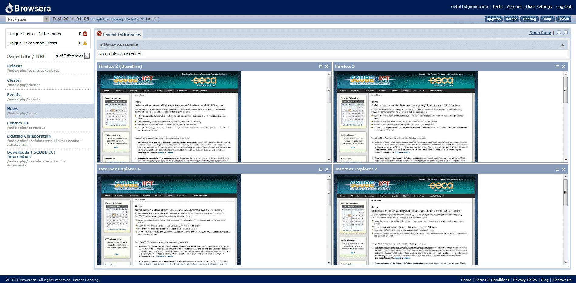 browsera testing tool