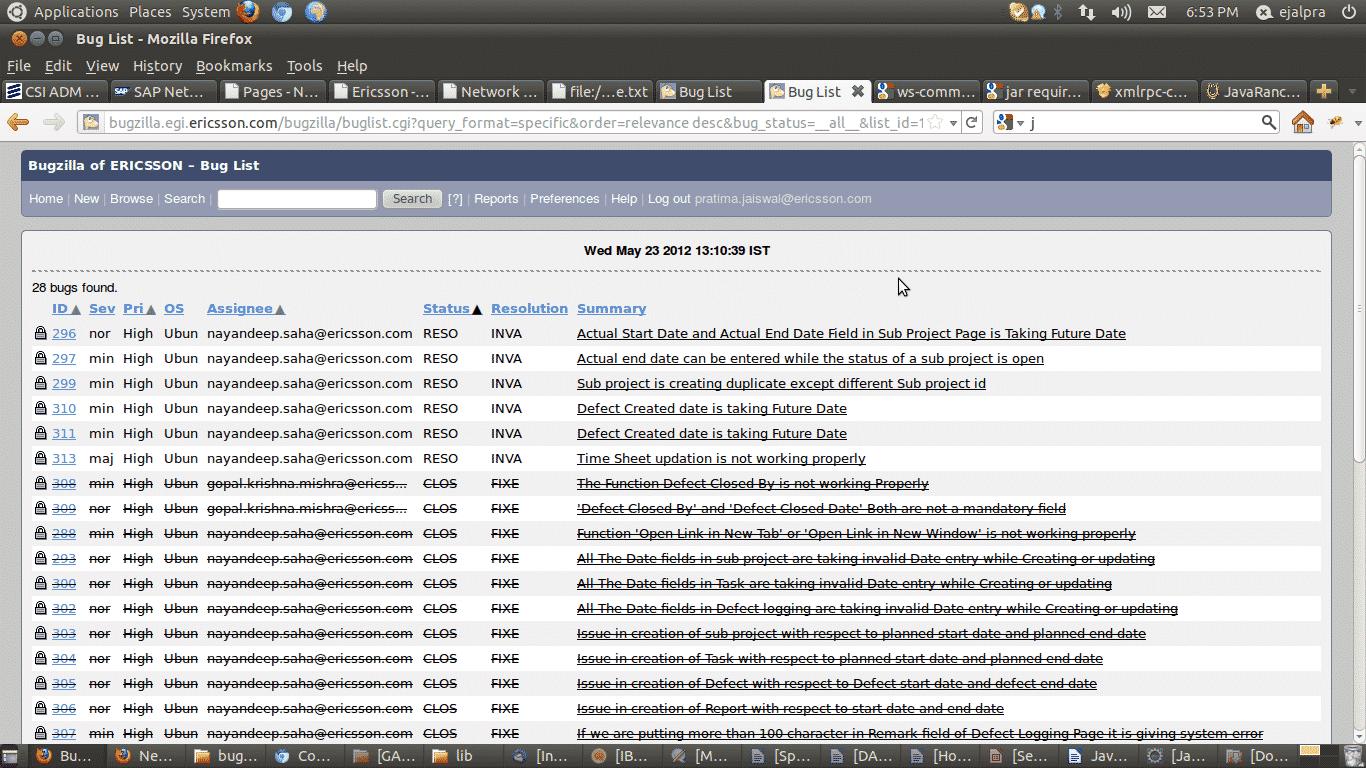 bugzilla software testing tool