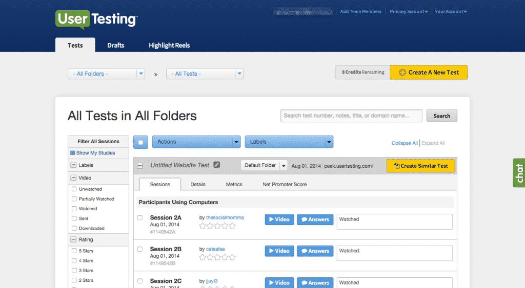 usertesting testing tool