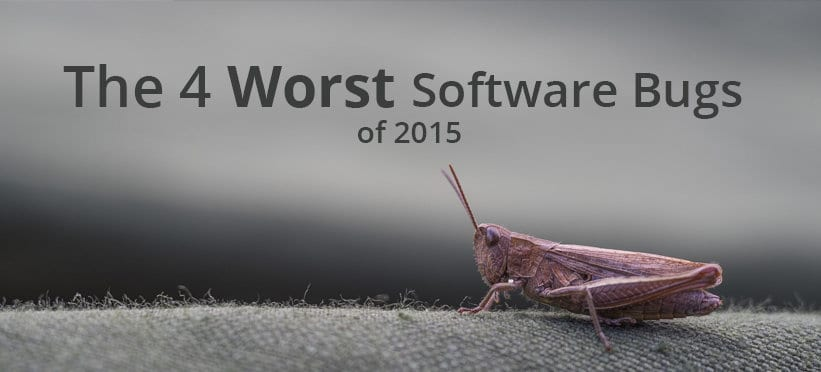 4 worst software bugs