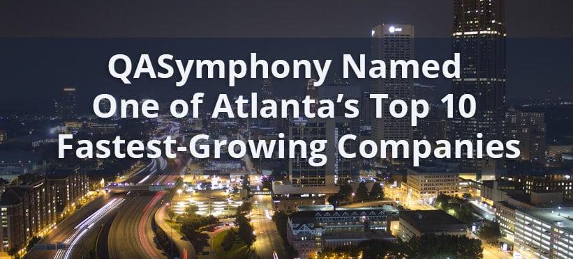 Atlanta's Top 10 Fastest-Growing Companies