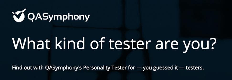what kind of tester are you?