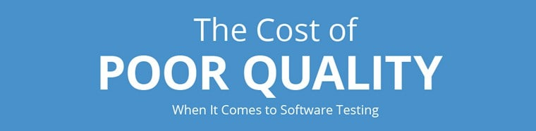 cost of poor software quality