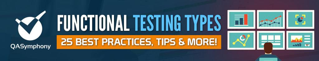 functional testing - banner